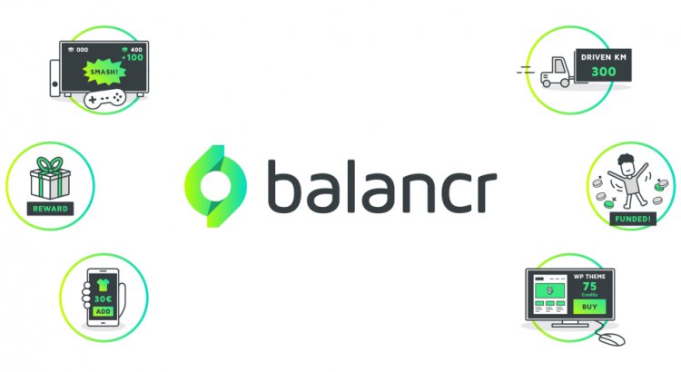 Six icons symbolizing various ways the balancr software can be used