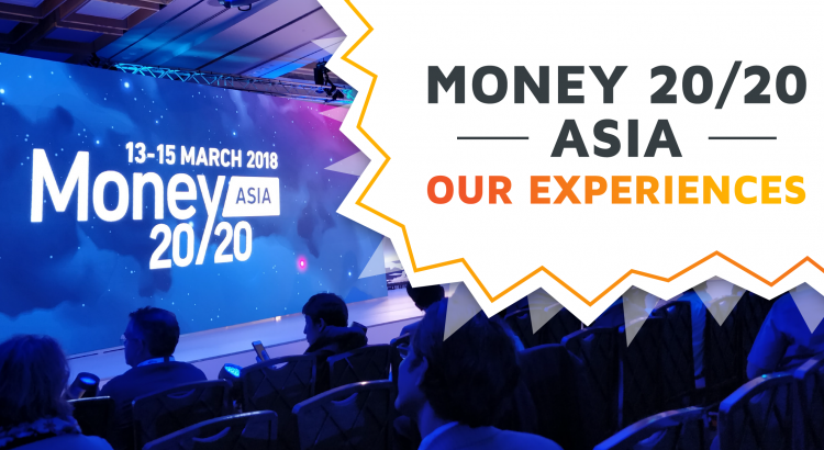 The stage of Money20/20 Asia 2018