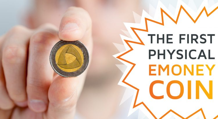 A symbolic picture of a hand holding a coin with the trimplement logo in a camera's lense, announcing the TrimpleCoin, trimplement's April's Fools Day joke.