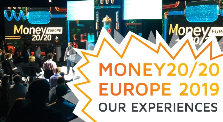 The start-up stage at Money20/20 Europe